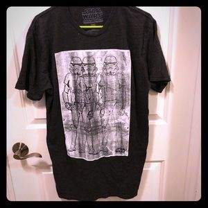Altru mens Star Wars Shirt xl nwot Bloomingdales